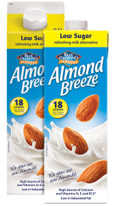 Low Sugar Almond Breeze