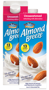 Unsweetened Almond Breeze